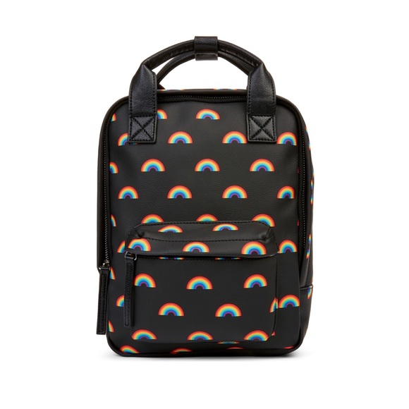 Handbags - Rainbow Print Backpack 🌈